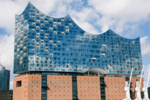 The Elbphilharmonie, Hamburg and the Port, Germany