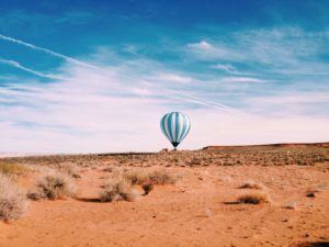 Hot Air Ballon, Arizona