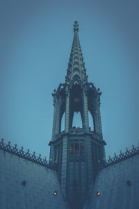 Detail views of a gothic building. Cologne cathedral. - Editorial use only.
