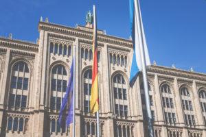 Deutschland, Bayern, München, Regierung von Oberbayern, Verwaltung, Gebäude.