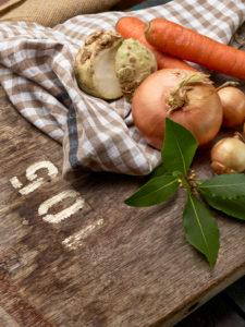 Suppengrün, unverarbeitet