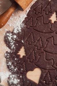 Baking cookies, Still life Christmas