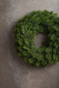 Advent wreath, unadorned, Still life Christmas