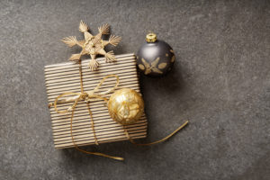 Christmas parcels and decoration, Still life Christmas