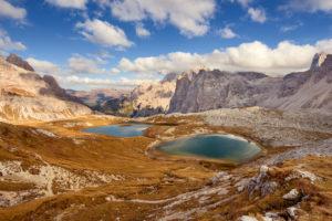 Lake, mountain lake, view, Dolomites, Laghi dei Piani, Sesto, Bolzano, Italy, Europe
