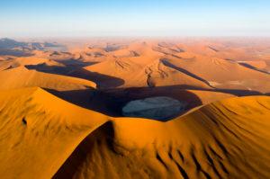 Aerial View of Hiddenvlei, Namib Naukluft Park, Namibia, Namib Naukluft Park, Namibia