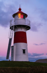 Lighthouse, Torshavn, Streymoy, Faroe Islands