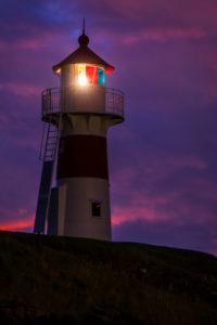 Lighthouse in Torshavn, Streymoy, Faroe Islands