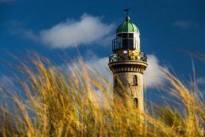 Lighthouse in Rostock-Warnemünde
