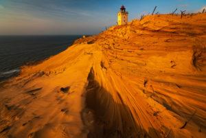 Lighthouse Rubjerg Knude, Denmark