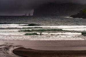 Coastal impression, Tjørnuvík, Streymoy Island, Faroe Islands