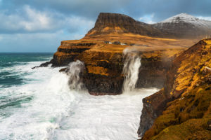 Dálsa, Múlafossur, Gásadalur, Várga Island, Faroe Islands