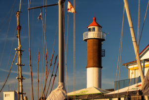 Lighthouse in Timmendorf on the island of Poel