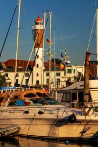 Harbor impression, Timmendorf, Poel Island