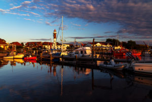 Harbor in Timmendorf, Poel Island