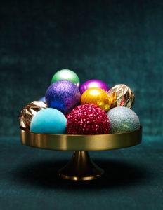 Weihnachtskugeln, Weihnachtsdekoration,stimmungsvoll