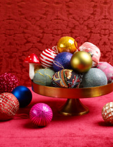 Christmas balls, Christmas decoration, atmospheric