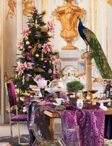 Opulente und elegante Weihnachten, Weihnachtsdekoration