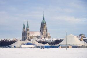 Deutschland, Bayern, Oberbayern, München, Theresienwiese, St.Paul Kirche