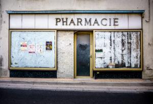 Aufgegebenes Geschäft in Fleury d'Aude