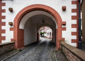Einziges erhaltenes Stadttor der Befestigungsanlagen in Seligenstadt