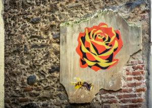 Alter Graffiti in Céret