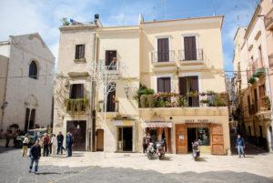 Haus in der Altstadt von Bari, Italien