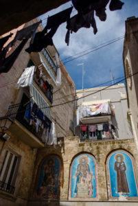 Unterwegs in der Altstadt von Bari, Italien