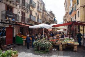Markt in Palermo, Sizilien