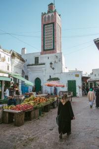 In den Straßen der Altstadt von Tetouan