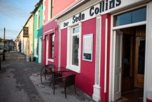 Besondere Architektur in Adare, Irland