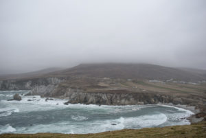 Coast and countryside on Achill Island, Ireland