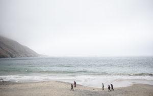 Küste und Landschaft auf Achill Island, Irland