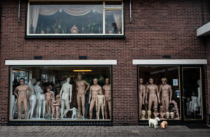 Business of mannequins in Apeldoorn, Gelderland