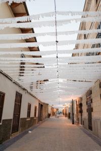 Gasse in einem Dorf auf Mallorca