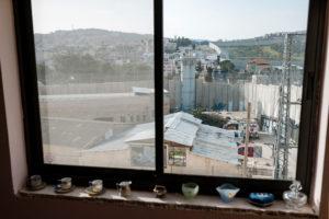 Banksy Art in Bethlehem, Palestine