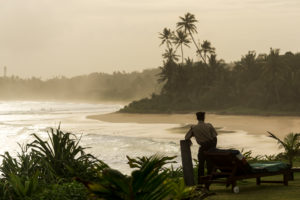 Work in the paradise, Koggala, Sri Lanka