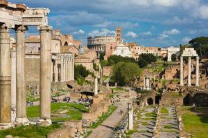 Italy, Lazio, Rome, Roman Forum