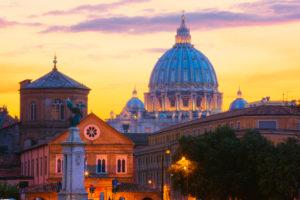 Italien, Latium, Rom, Petersdom