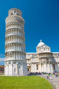 Italy, Tuscany, Pisa, Leaning Tower, Pisa Cathedral, Cathedral Square