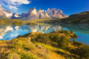 Chile, Magallanes Region, Torres del Paine National Park, Lago Pehoe
