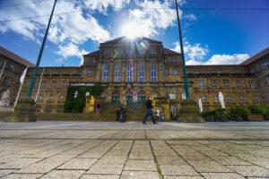 Germany, Hesse, Kassel, Town Hall,