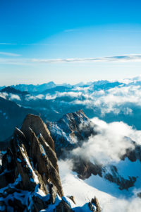 on the Oberaarhorn, Bernese Alps, Switzerland,