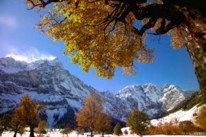 Great maple ground, Karwendel mountains, Austria
