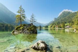Berchtesgaden, Alpen, Hintersee, Mühlsturzhorn