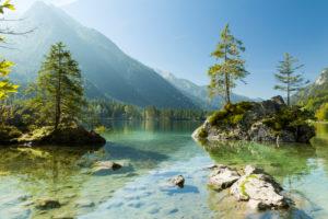 Berchtesgaden, Alpen, Hintersee, Hochkalter