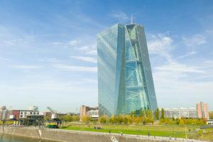 Frankfurt, ECB, Main, landscape format