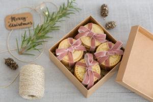 Geschenk, Schachtel, Frohe Weihnachten, Weihnachtsbaumschmuck, einpacken
