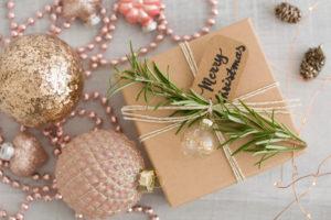 Geschenk, Schachtel, Frohe Weihnachten, Weihnachtsbaumschmuck