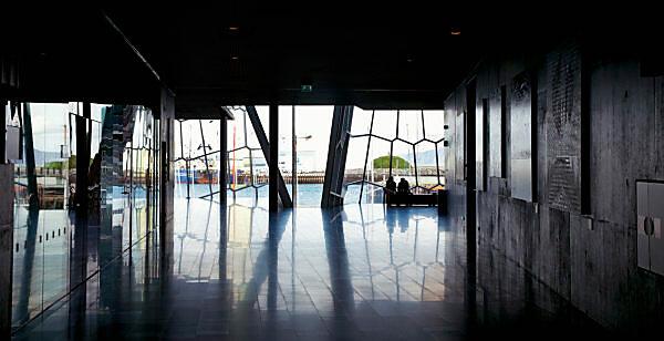 Harpa, architecture, city, Iceland, Reykjavik